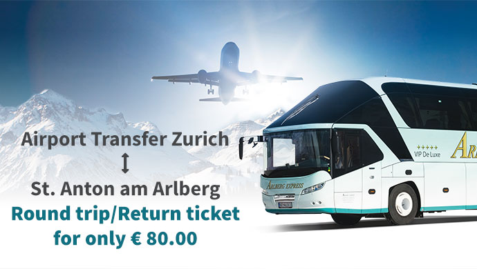 Round trip/Return ticket for only € 80.00