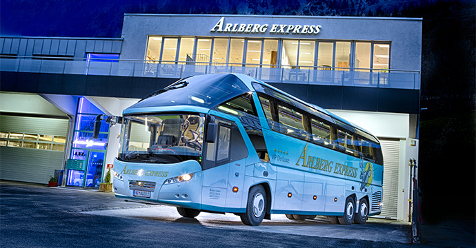 Arlberg Express vehicle fleet